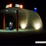 Nieuwbouw onbemand tankstation
